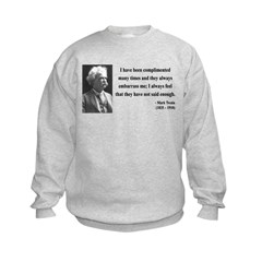 Mark Twain 12 Sweatshirt