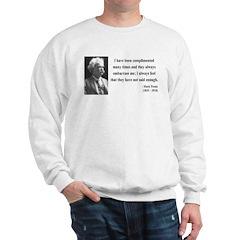 Mark Twain 12 Sweatshirt
