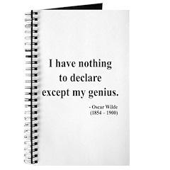 Oscar Wilde 14 Journal