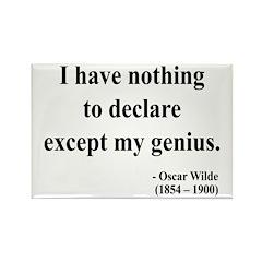 Oscar Wilde 14 Rectangle Magnet (10 pack)