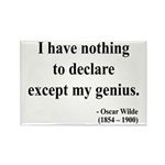 Oscar Wilde 14 Rectangle Magnet (100 pack)