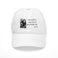 Oscar Wilde 5 Baseball Cap
