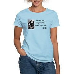 Oscar Wilde 5 Women's Light T-Shirt