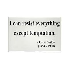 Oscar Wilde 2 Rectangle Magnet (10 pack)