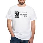 Oscar Wilde 2 White T-Shirt