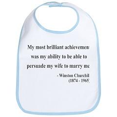 Winston Churchill 15 Bib