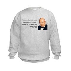 Winston Churchill 15 Sweatshirt