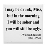 Winston churchill Drink Coasters