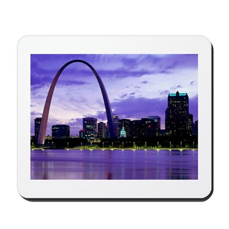 St. Louis Skyline Mousepad