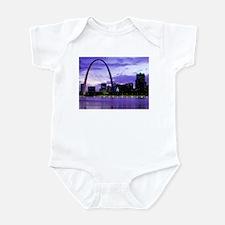 St. Louis Skyline Infant Bodysuit