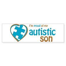Proud of Son (3BB) Bumper Bumper Sticker