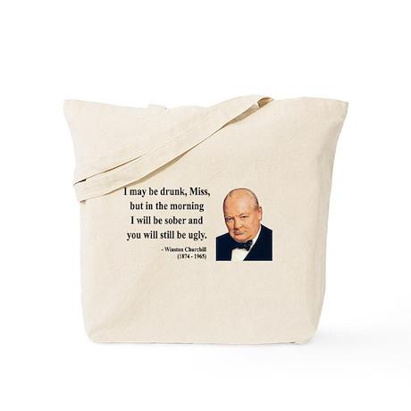 Winston Churchill 13 Tote Bag