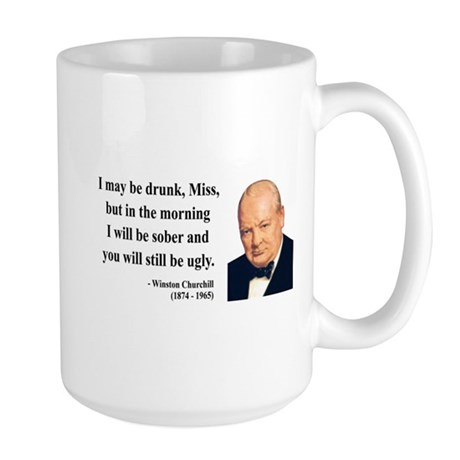 Winston Churchill 13 Large Mug