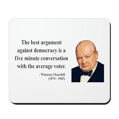 Winston Churchill 2 Mousepad