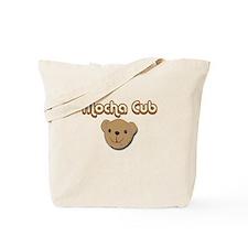Mocha Cub Tote Bag