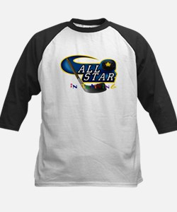 Hockey All Star in Training Kids Baseball Jersey