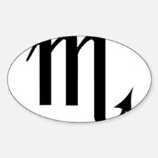 SCORPIO (30) Oval Decal