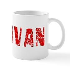 Donavan Faded (Red) Mug