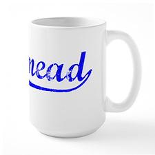 Vintage Rosemead (Blue) Mug