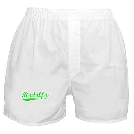 Vintage Rodolfo (Green) Boxer Shorts