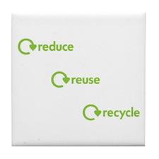 Unique Reuse Tile Coaster