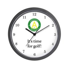 Afternoon Swingers Wall Clock