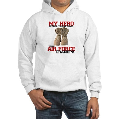 Combat boots: USAF Grandpa Hooded Sweatshirt