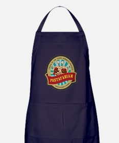 Cute Flying spaghetti monster Apron (dark)