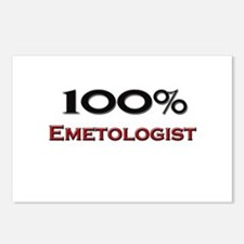 100 Percent Emetologist Postcards (Package of 8)