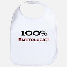 100 Percent Emetologist Bib