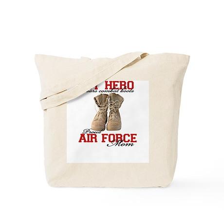 Combat boots: USAF Mom Tote Bag