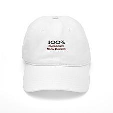 100 Percent Emergency Room Doctor Baseball Cap