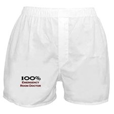100 Percent Emergency Room Doctor Boxer Shorts