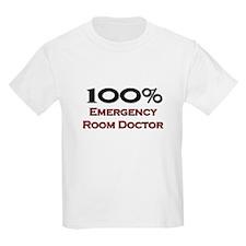 100 Percent Emergency Room Doctor T-Shirt