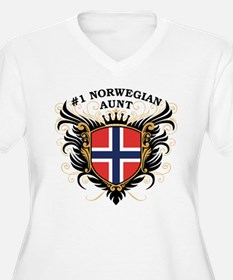 Number One Norwegian Aunt T-Shirt