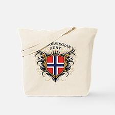 Number One Norwegian Aunt Tote Bag