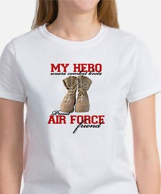 Combat boots: USAF Friend Tee