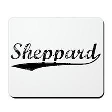 Vintage Sheppard (Black) Mousepad