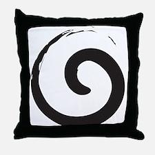 Sacred Spirals Throw Pillow