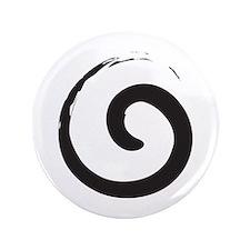 """Sacred Spirals 3.5"""" Button"""