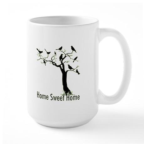 Home Sweet Home Tree Large Mug