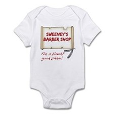 Sweeney's Barber Shop Infant Bodysuit