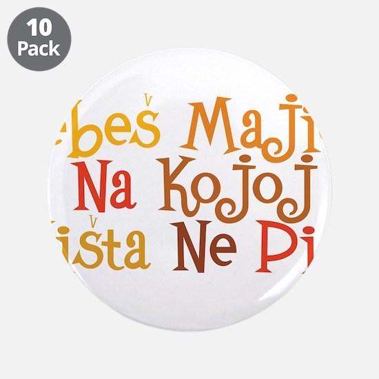 "Je*es maicu... 3.5"" Button (10 pack)"
