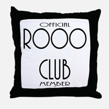 OFFICIAL ROOO CLUB MEMBER THROW PILLOW