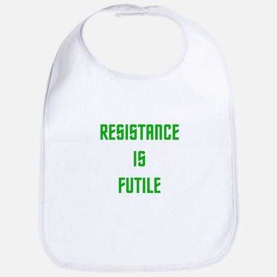 Resistance is Futile Bib