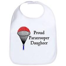 Proud Paratrooper Daughter Bib