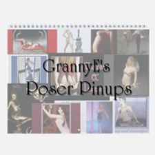 GE Poser Pinup Wall Calendar