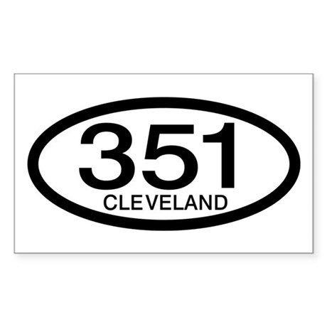 Vintage Ford 351 c.i.d. Cleveland Decal by personalized123