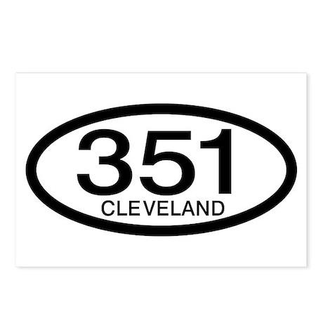Vintage Ford 351 c.i.d. Cleveland Postcards (Packa