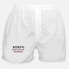 100 Percent Electronics Engineer Boxer Shorts